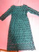 čipkované šaty, XL