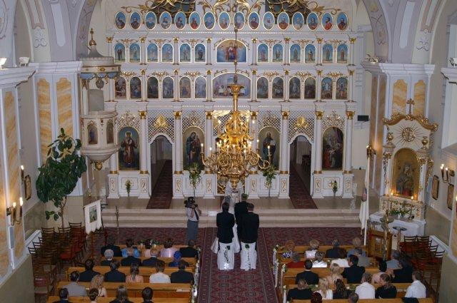 Mirka{{_AND_}}Ivko - v kostole