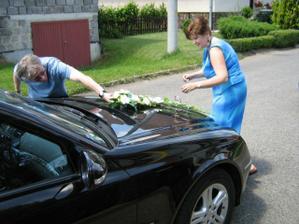 príprava auta