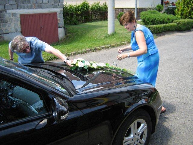 Mirka&Ivko - príprava auta