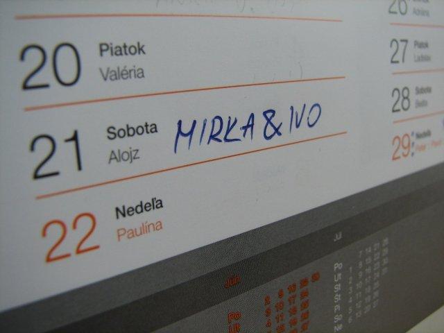 Mirka&Ivko - aby sa náhodou nezabudlo :-)