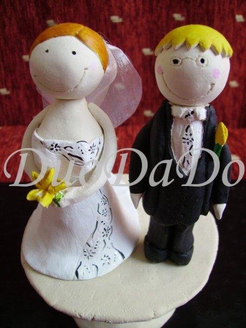 DuoDaDo - my dvaja ako postavicky na tortu