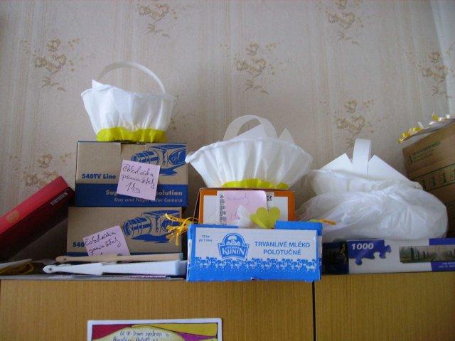 DuoDaDo - košíčky na výslužky, darčeky pre hostí.... všetko pekne nachystané