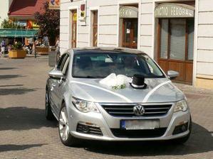 naše krásne autíčko. Ďakujeme, Mirko. :-D