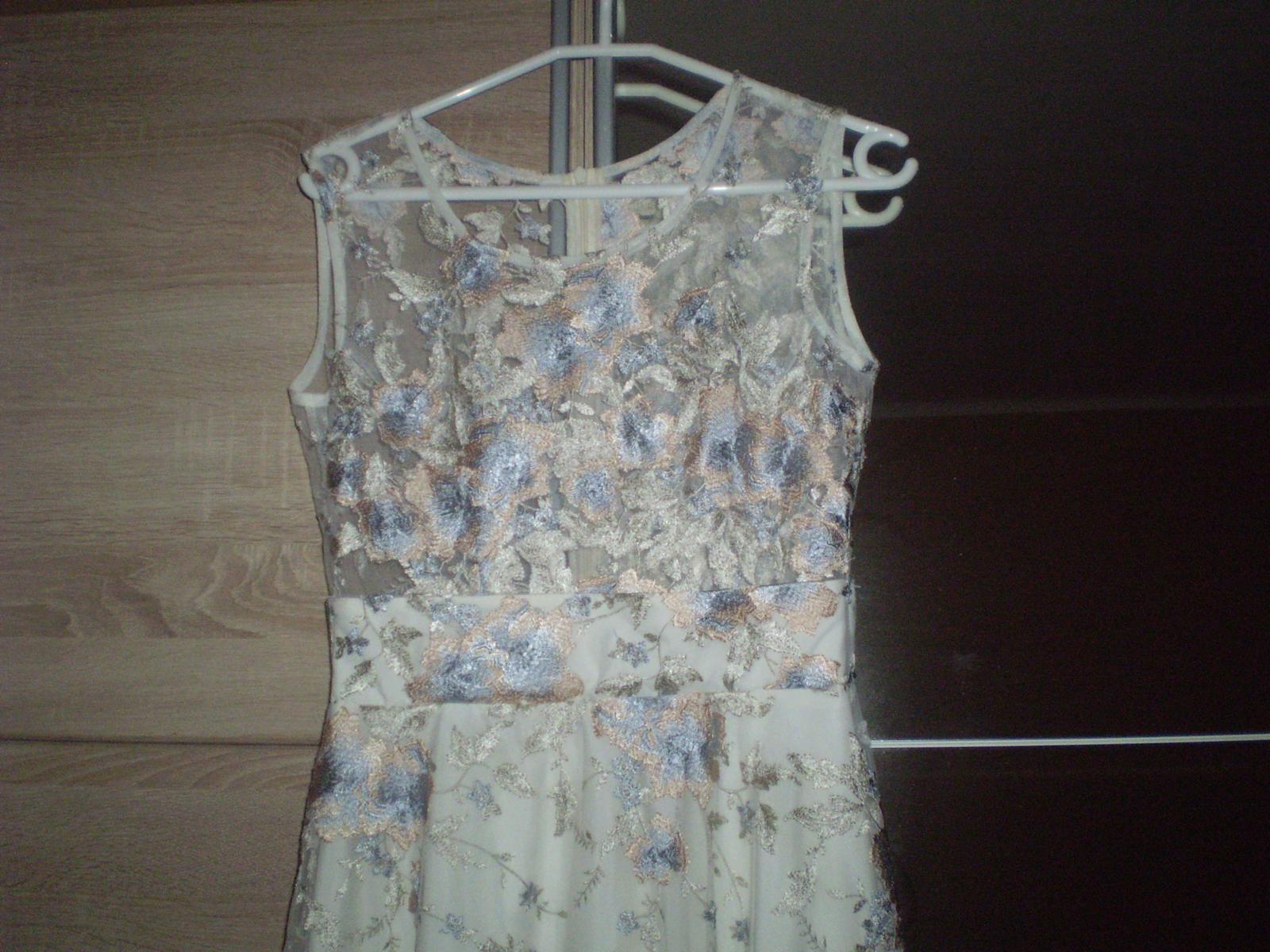 Spoločenské šaty krajkové - Obrázok č. 2