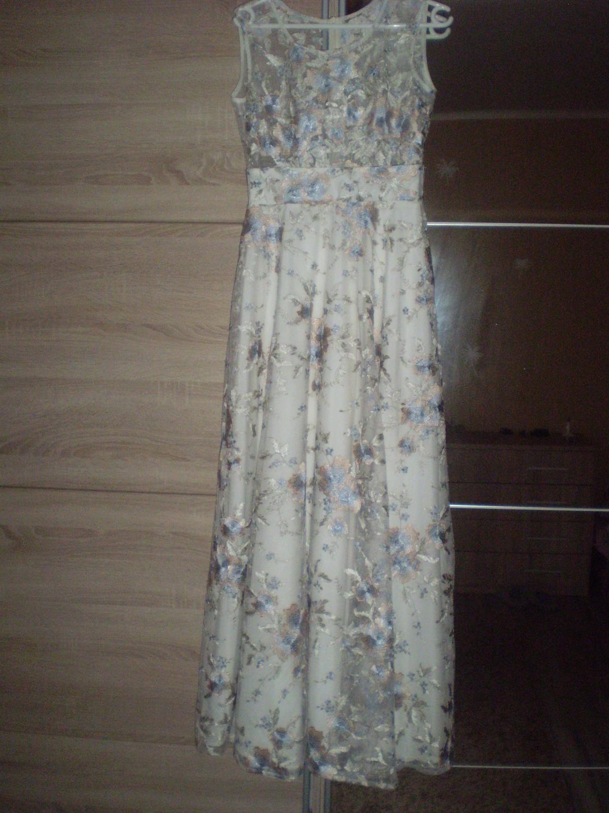 Spoločenské šaty krajkové - Obrázok č. 1