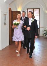 A jdeme na to - nástup do svatební síně