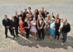 Naše svatební sešlost ...