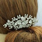 Luxusní hřeben do vlasů - skladem,