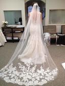 Svatební závoj - skladem,