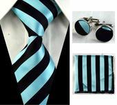 Tyrkysový set s kravatou,