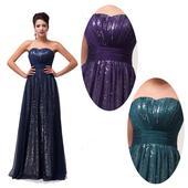 Zářivé společenské šaty, 36