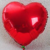 Balónek - srdce,