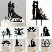 Ozdoba na svatební dort,