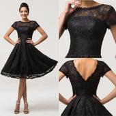 Černé šaty, 38