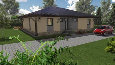 3D model - bungalov 1250 (upravený)