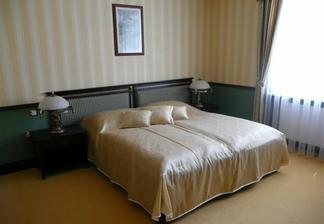 Takto to vypadalo v našej izbičke. Ináč, Vila Tereza v Prievidzi, krása, pohoda, súkromie.