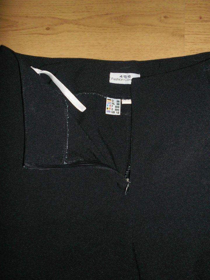 černé společenské kalhoty - Obrázek č. 2