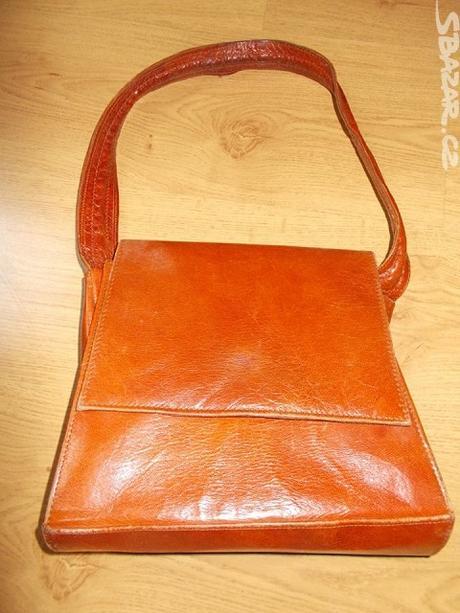 kožená kabelka - Obrázek č. 1