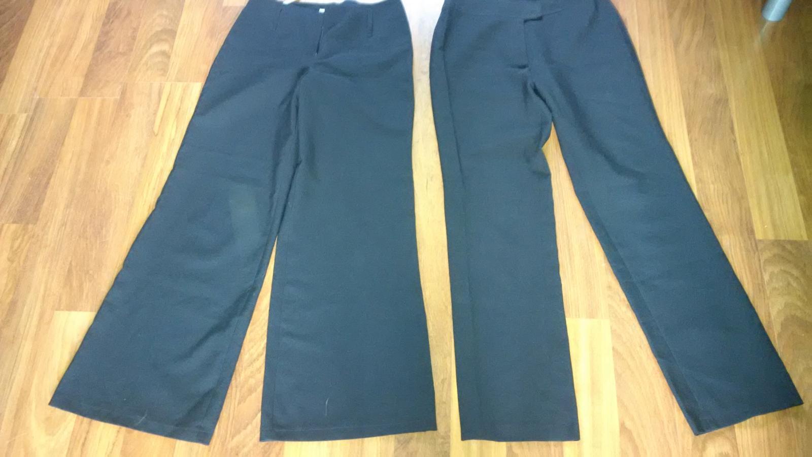 černé společenské kalhoty - Obrázek č. 3