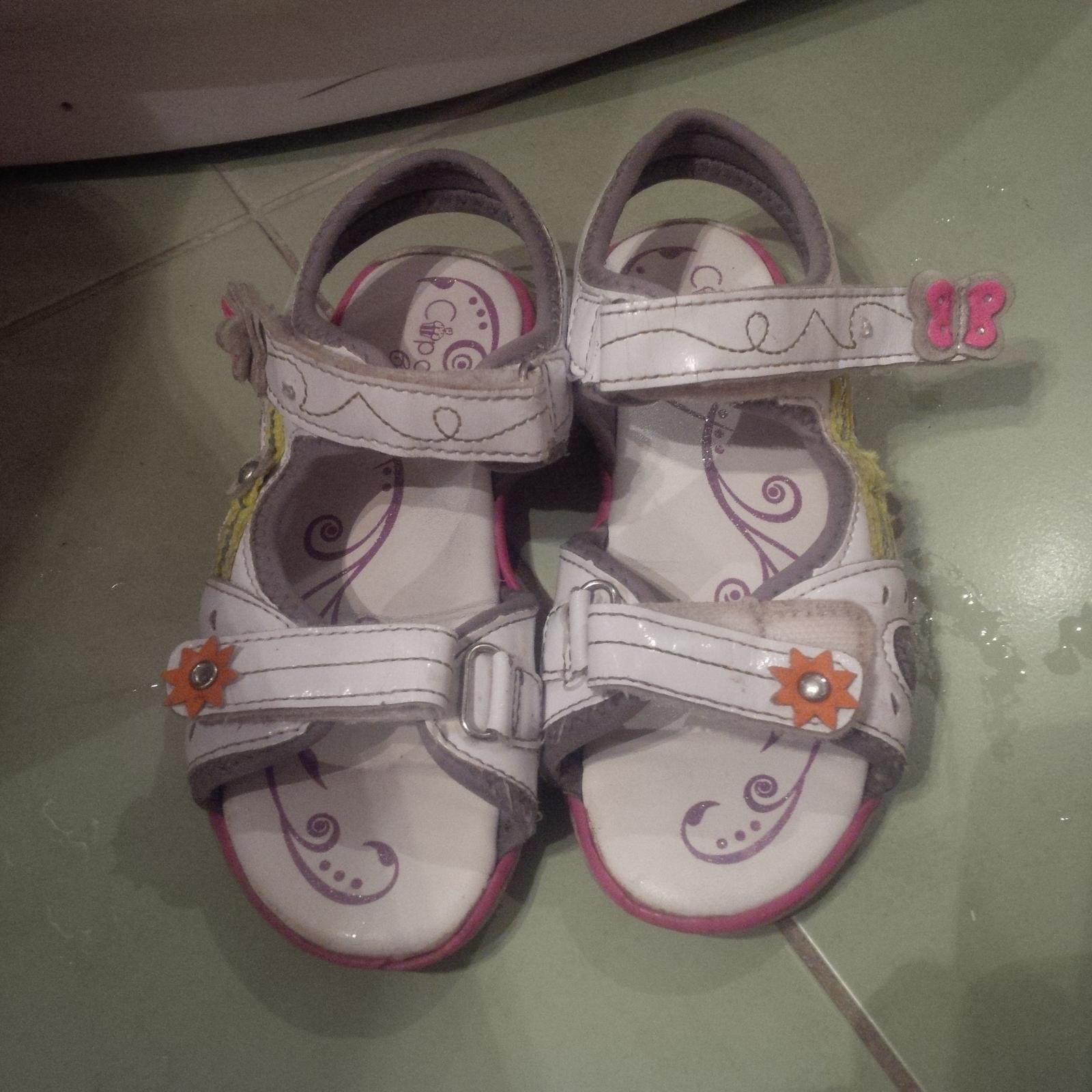 dívčí sandálky Cupcake, vel 30 - Obrázek č. 1