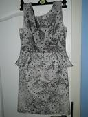 dámské šaty s volánkem, vel M, Apricot, M