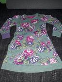 dívčí šaty s květy, vel 116, 116