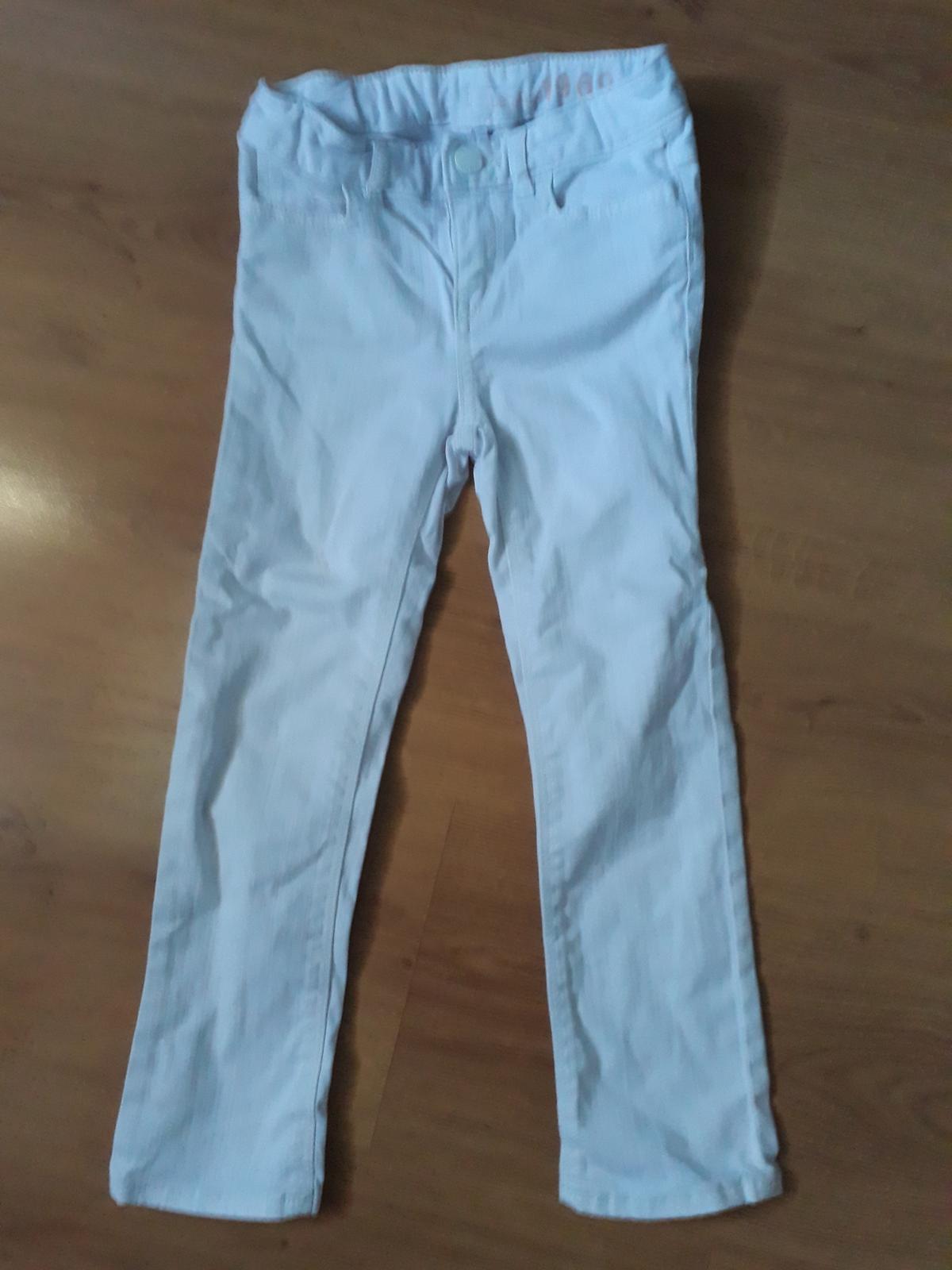 dívčí bílé kalhoty - Obrázek č. 1
