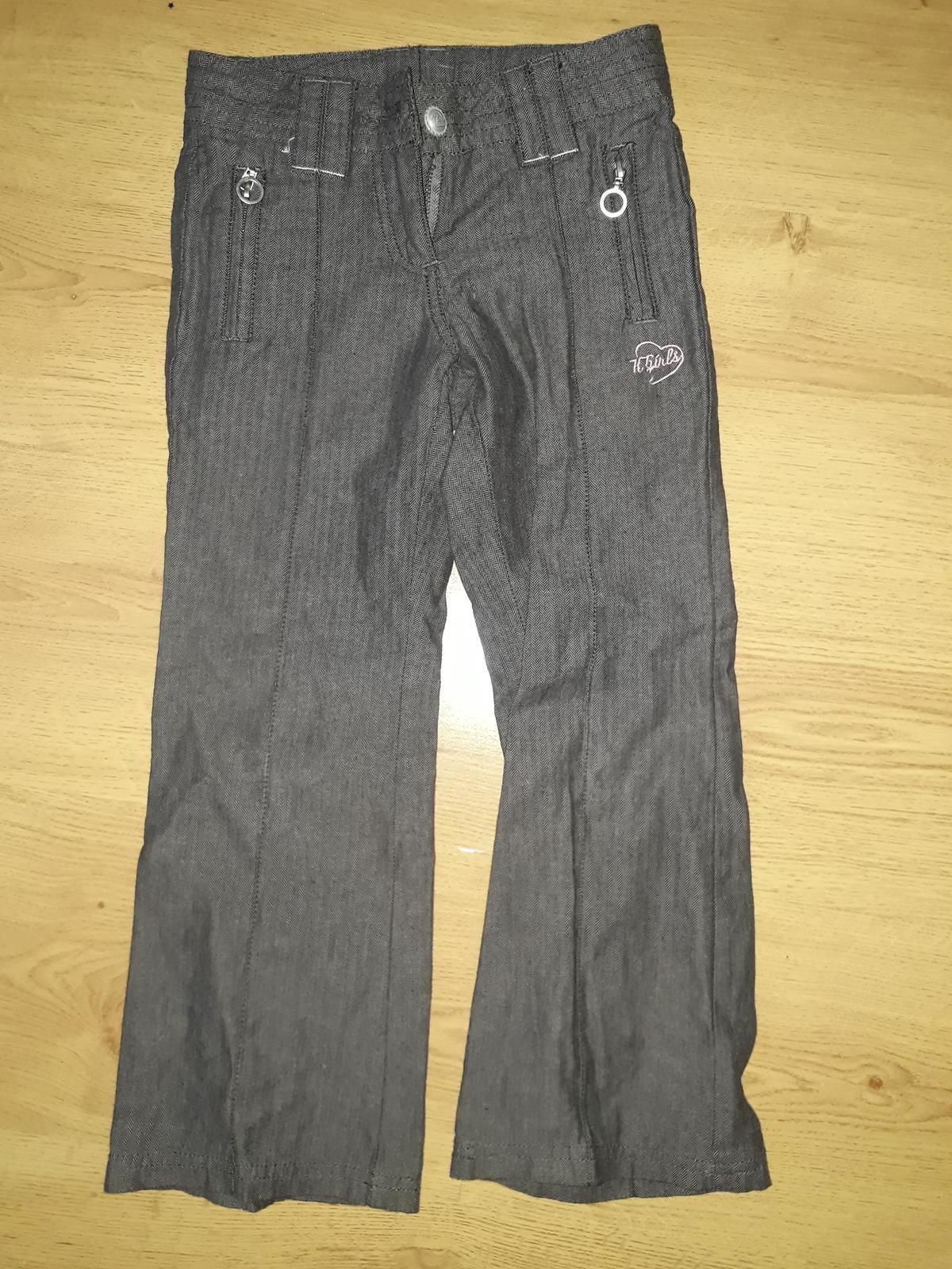 dívčí plátěné kalhoty - Obrázek č. 1