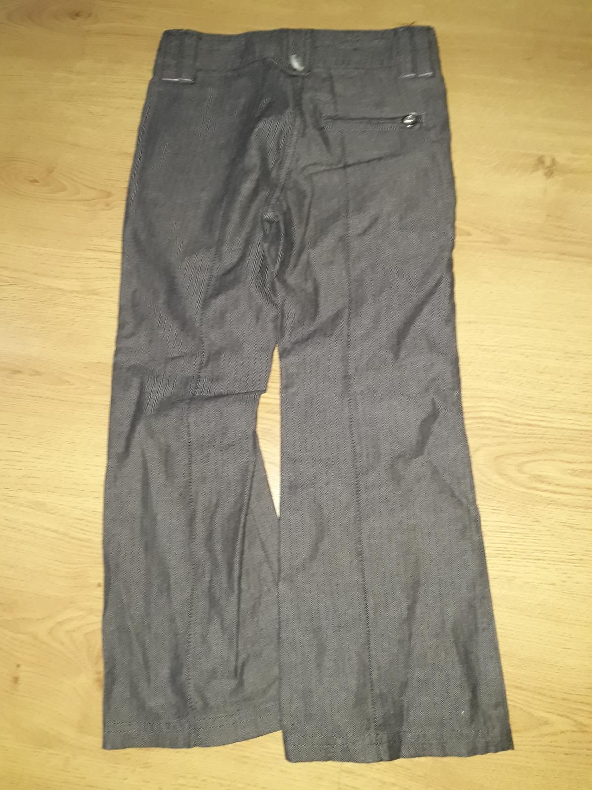 dívčí plátěné kalhoty - Obrázek č. 3