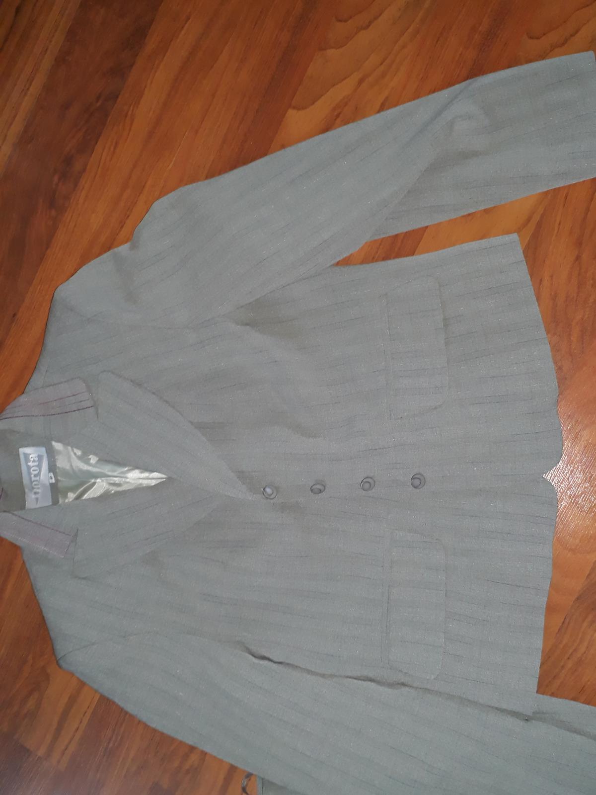dámský kostým sukně a sako, vel 40 - Obrázek č. 3