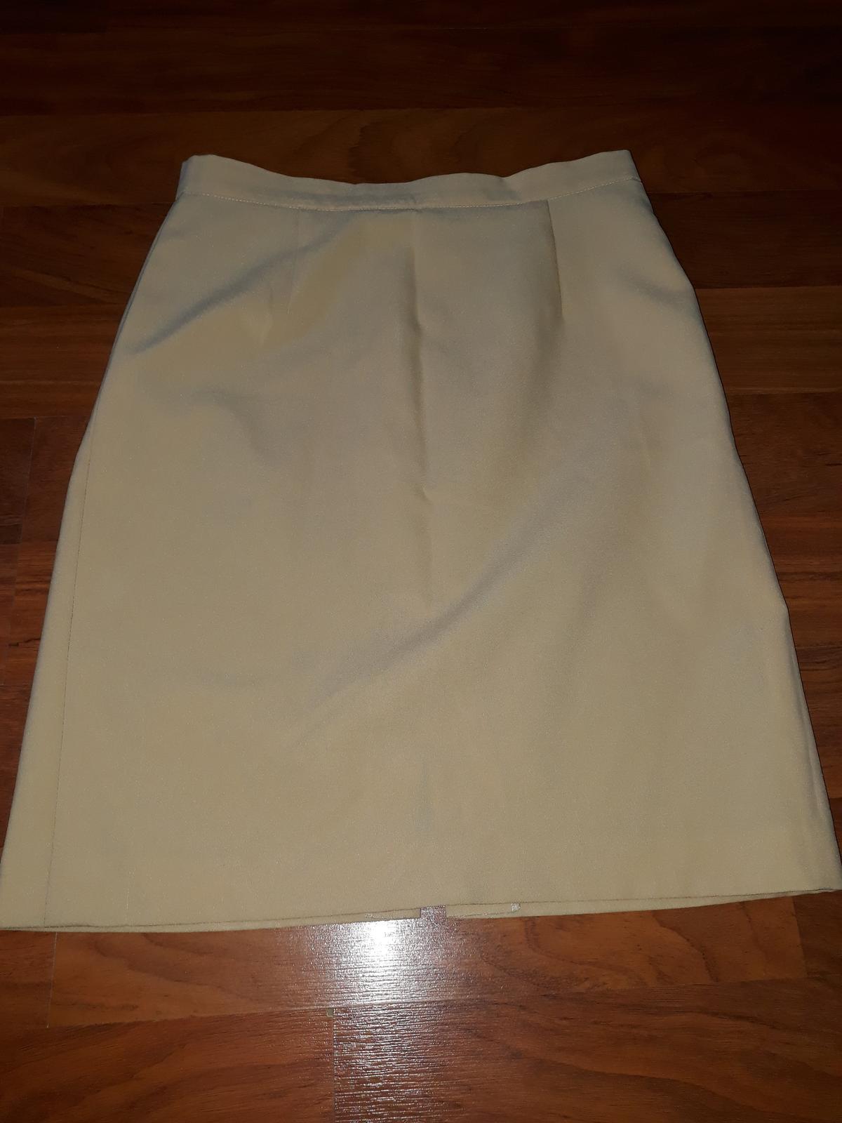 béžová sukně - Obrázek č. 1