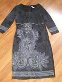 dámské šaty s delším rukávem, 42