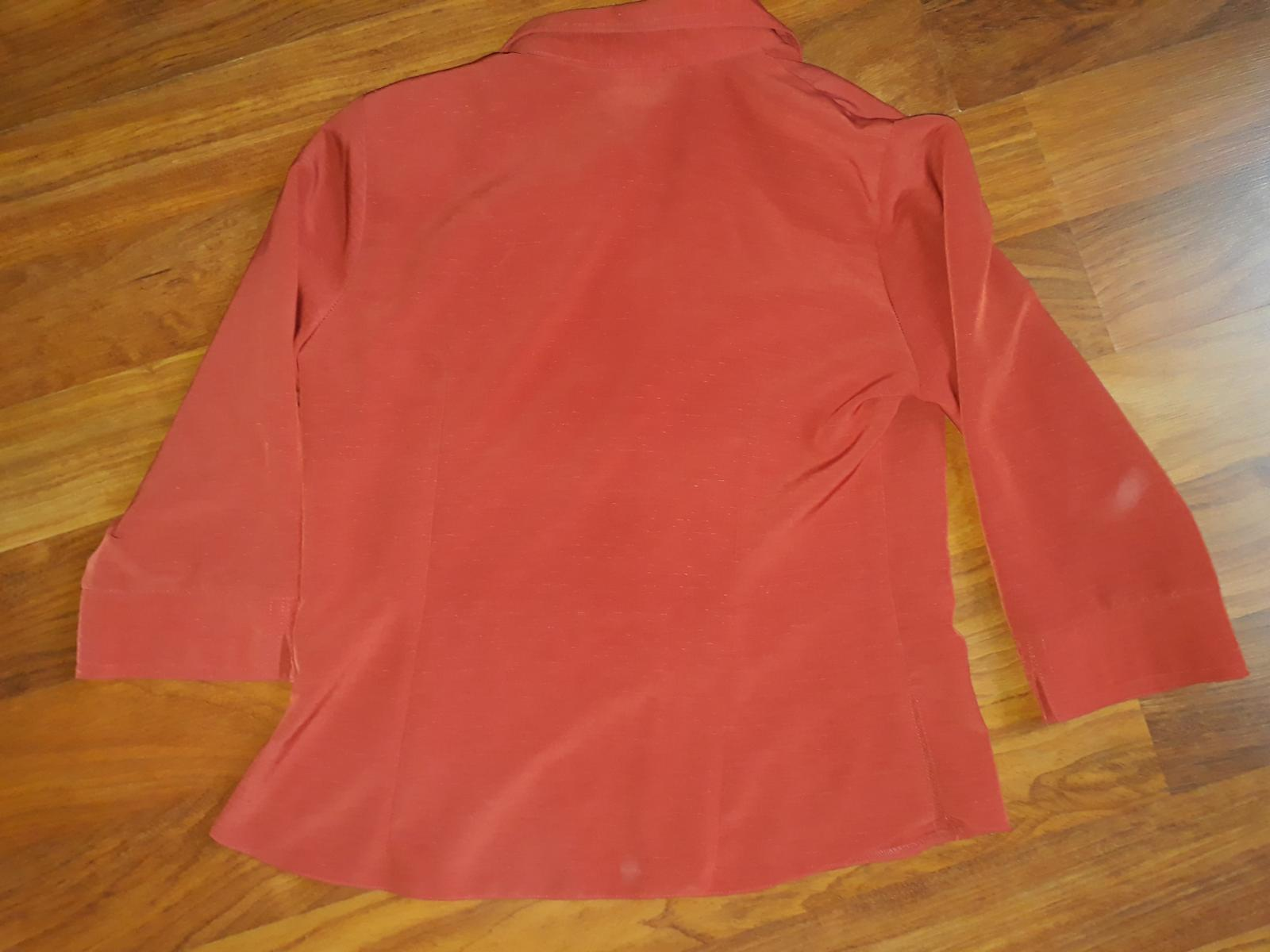 Cihlová košile, vel M - Obrázek č. 1