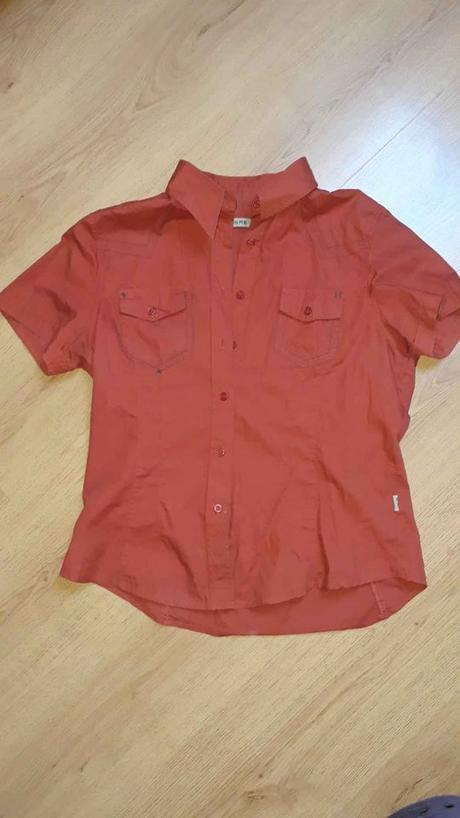 Cihlová košile HERE, L - Obrázek č. 1