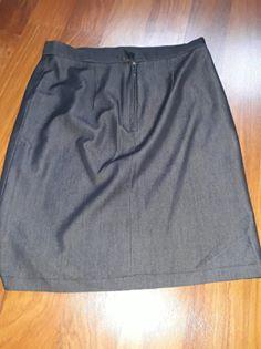 Antracitova sukně vel 36/38 - Obrázek č. 1