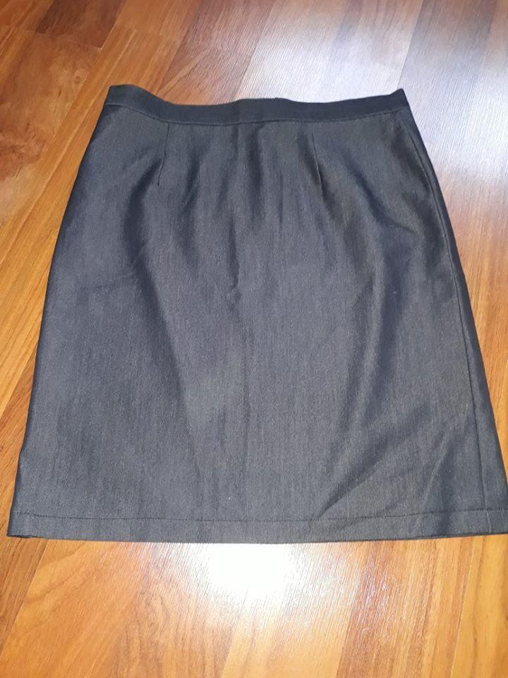 Antracitova sukně vel 36/38 - Obrázek č. 2