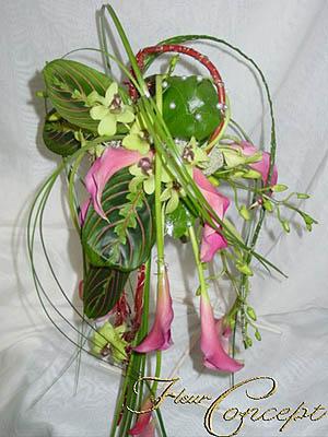 Katka a Juraj - ikebana