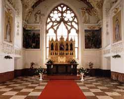 Katka a Juraj - zamecka kaplnka, kde bude obrad