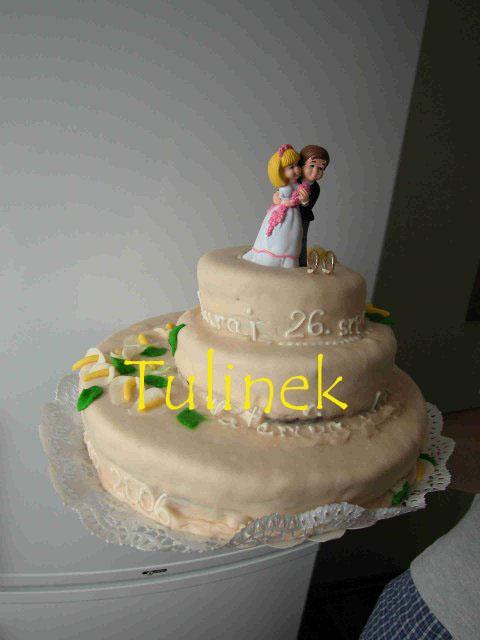 Katka a Juraj neco pro inspiraci z nasi svatby - hruza, kterou nam jedna mila pani upekla, nedala se dat ani na stul