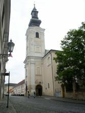 ...Frantiskansky kostolik...