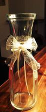 Samovýroba - váza na svatební kytici