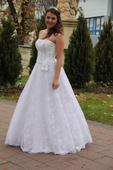 Svadobne šaty veľ.36-38, 38