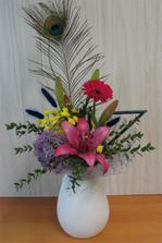 taky netradiční :-) kytky jsou plně v mé režii, tak že by tahle? :-)