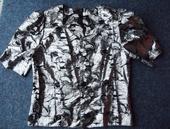 Stříbrná halenka s nabíranými rukávky, 40