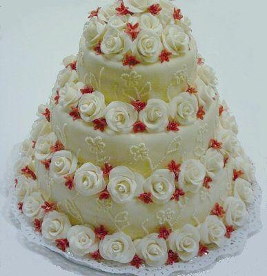 Svatební dorty - exkluzivni