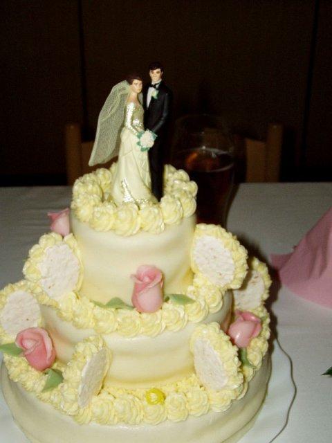 Svatební dorty - patro