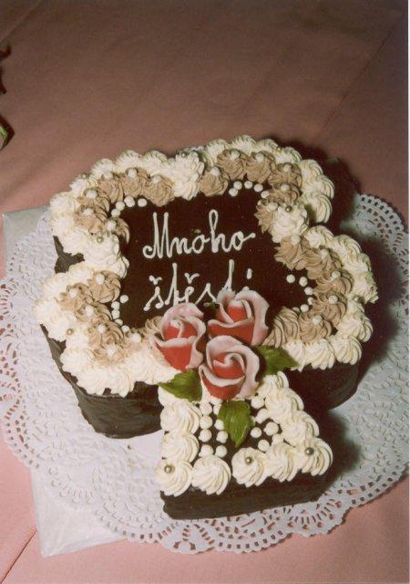 Svatební dorty - čtyčlístek