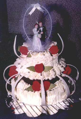Svatební dorty - Obrázek č. 10