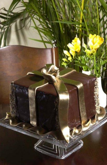 Svatební dorty - dort darek